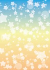 星と円のグラデーション