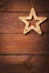 Karte mit Stern