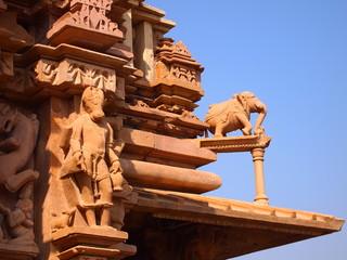 Temple in India Khajuraho