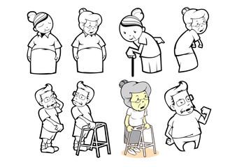 adult sketch