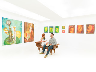 contemporary painting exhibition