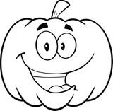 cartoon pumpkins coloring pages - photo#8