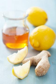 lemon ginger and honey