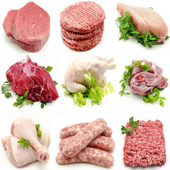 Mural de carnes