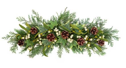Christmas Floral Display