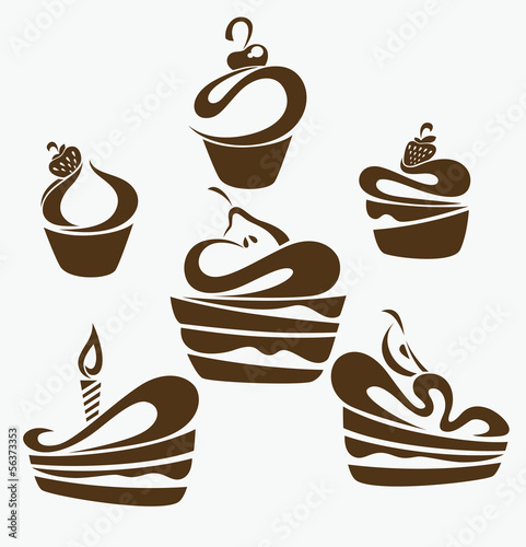 Эмблема тортика картинки