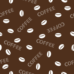 Сoffee seamless background