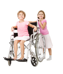 children handicap smiling