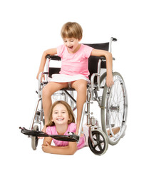 handicap children positive image
