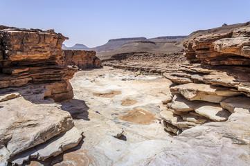 Morocco, stone water fall
