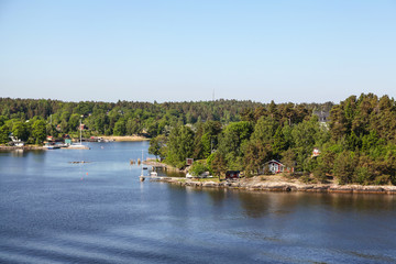 Islands in the Stockholm archipelago