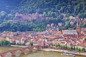 view of Heidelberg city, Germany