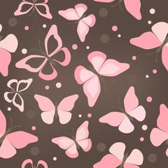 seamless butterflies