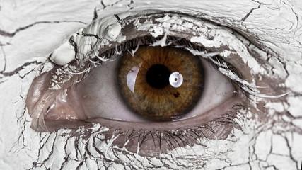 Wonderful eye close up