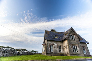 Deserted haunted house 1
