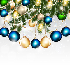 Christmas greeting background for design