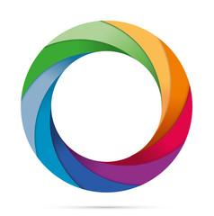 Diaframma macchina fotografica colorato infografica esempi
