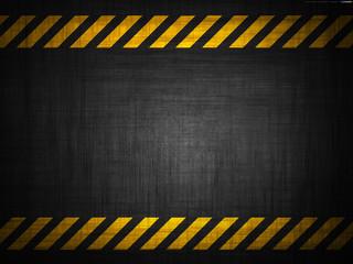 grungy and worn hazard stripes texture