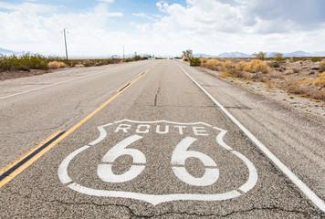 Foto auf AluDibond Route 66 Route 66