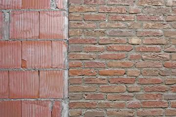 Reparatur Backsteinwand Mauer