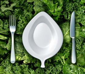Eating Green Vegetables