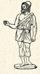Hephaestus,  Greek god of blacksmiths