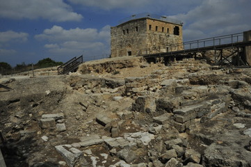 Castle of the Knights in Zippori NP, Israel