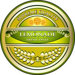 Lemonade Vintage Label