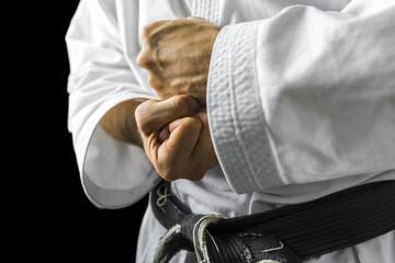 Karate hands