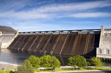 Grand Coulee Dam Hydroelectric Power Plant Columbia River