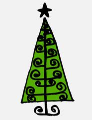 Tree art design in Jaidee Family Style