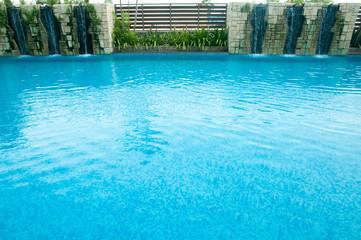 swimming pool water. Aqua texture
