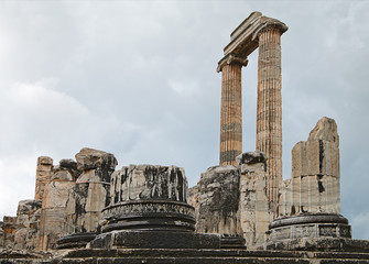 Apollo temple in Turkey