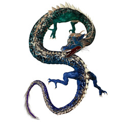 Blue Green Dragon