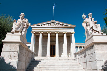 Academy of Athens. Greece.