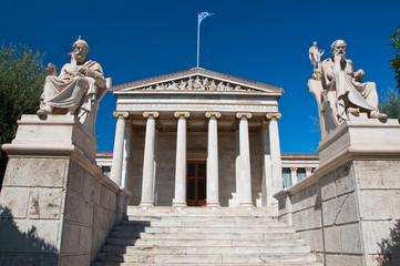 Academy of Athens. Athens, Greece.