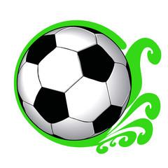 Футбольный мяч символ чемпионата