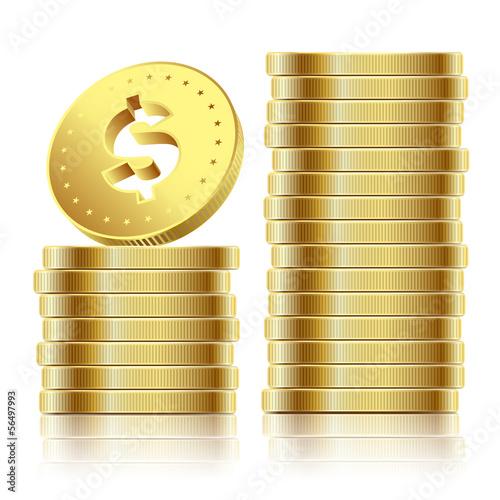 Вектор монеты