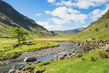 Mountain stream in the Lake District