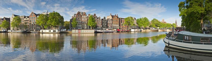 Canvas Prints Amsterdam Amsterdam reflections, Holland