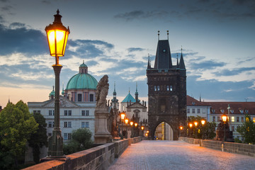 Printed kitchen splashbacks Prague Charles Bridge, Prague