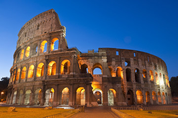 Poster de jardin Rome Colosseum, Colosseo, Rome
