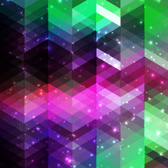 abstract stylish geometric background