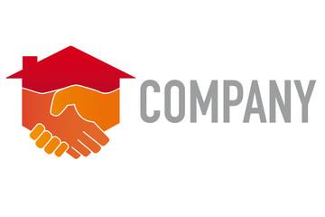 Construction and Service Company Logo