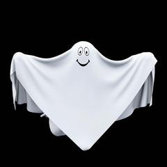 Halloween ghost, 3d