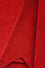Sparkly Red Christmas Decor for Wallpaper or Background