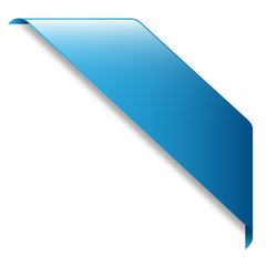 Blue RIBBON (band website button icon label)