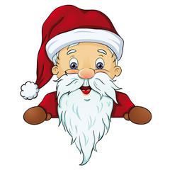 Weihnachtsmann lunzt