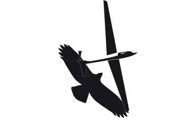 Fotomurales - segelflugzeug_adler