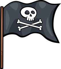 pirate flag cartoon clip art